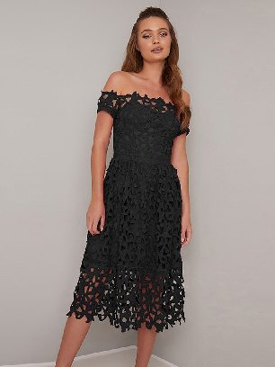Supply Mini Off Shoulder Short Sleeve Sexy Crochet Prom Dress