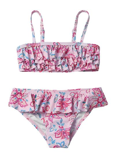 hildren Multi-layer Frill Ruffles Toddler Girls Split Bikini