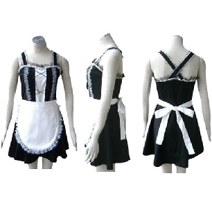 Top Top Black Gothic Lolita cosplay costume