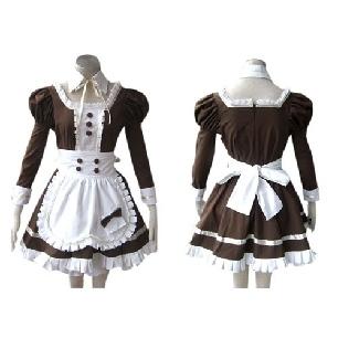 Classic Black Gothic Lolita Cosplay Costume