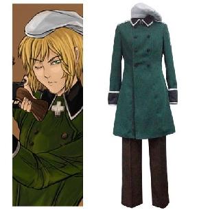 Axis Powers Vash Zwingli Cosplay Costume