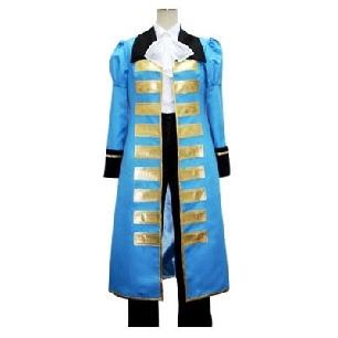 Hetalia Axis Powers Blue France Cosplay Costume
