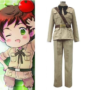 Hetalia Axis Powers Antonio Fernandez Carriedo Spain Cosplay Costume