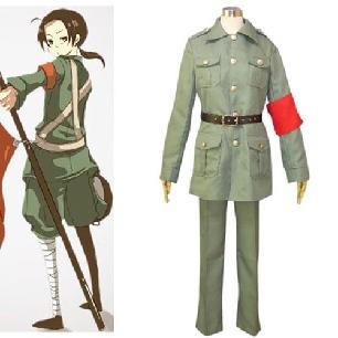 Hetalia Axis Powers China Cosplay Costume