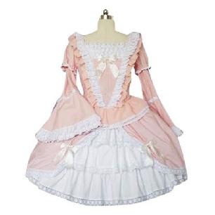 Bell Sleeves Sweet Lolita Cosplay Dress