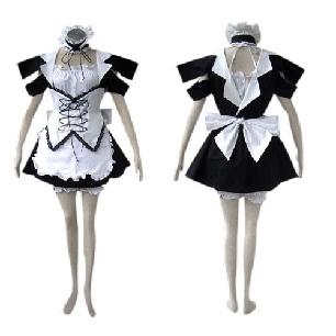 Suitable Black Lolita cosplay costume