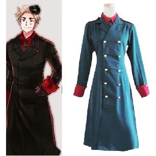 Axis Powers Denmark Cosplay Costume