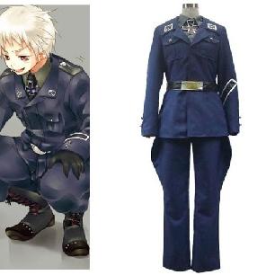 Axis Powers Prussia Gilbert Beilschmidt Nice Cosplay Costume