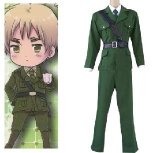 Axis Powers Hetalia England ( United Kingdom ) Cosplay Costume